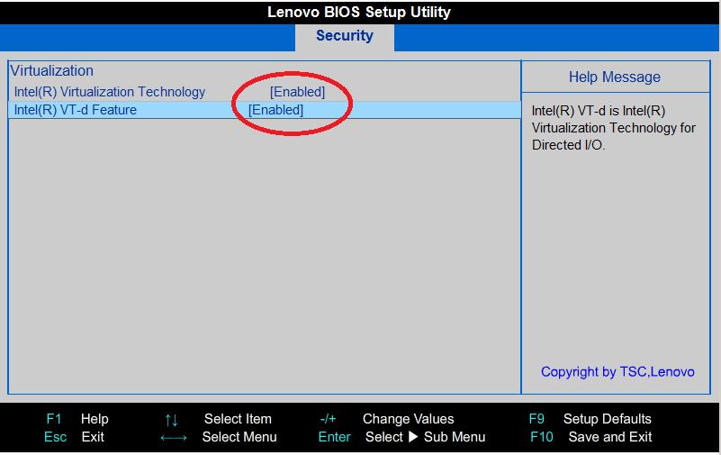 インテル VT-x を有効化する方法 BIOSが反映されない時は – weblog